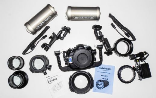 Custodia Sea&Sea - Nikon D200 + Flash