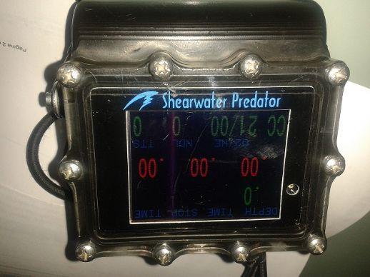Vendo shearwater Predator