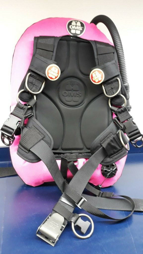 jacket OMS performance mono wing + IQ LITE backpack