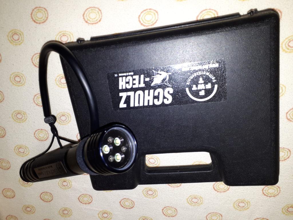 Torcia sub LED GS35 Testa illuminante TriLED 2400 lumen