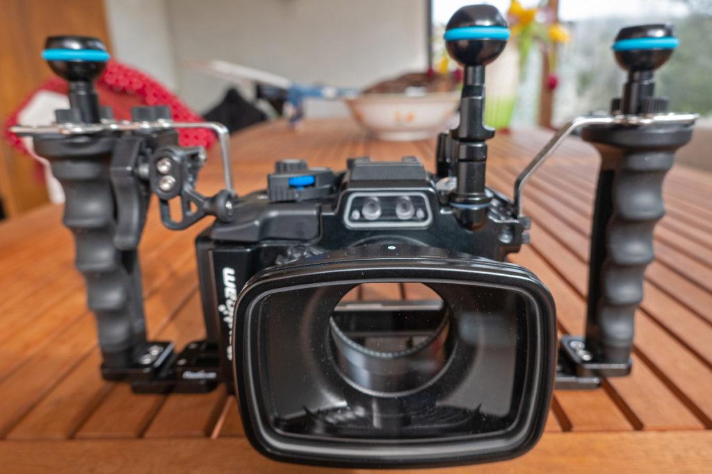 Custodia Nauticam NA-RX100 PRO PACKAGE +Sony RX100 VI