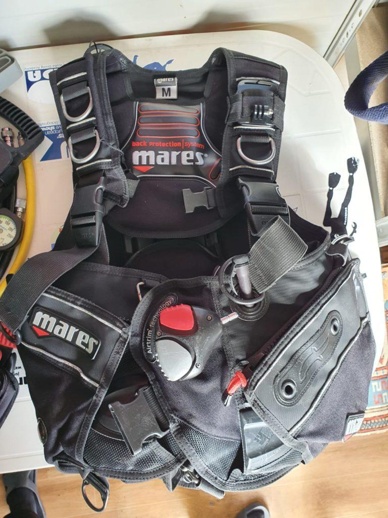 Gav Pinne Maschera materiale vario diving