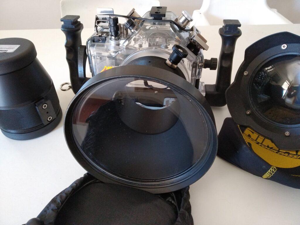 Custodia NIMAR per Canon 5Dmk3 con 3 Oblò