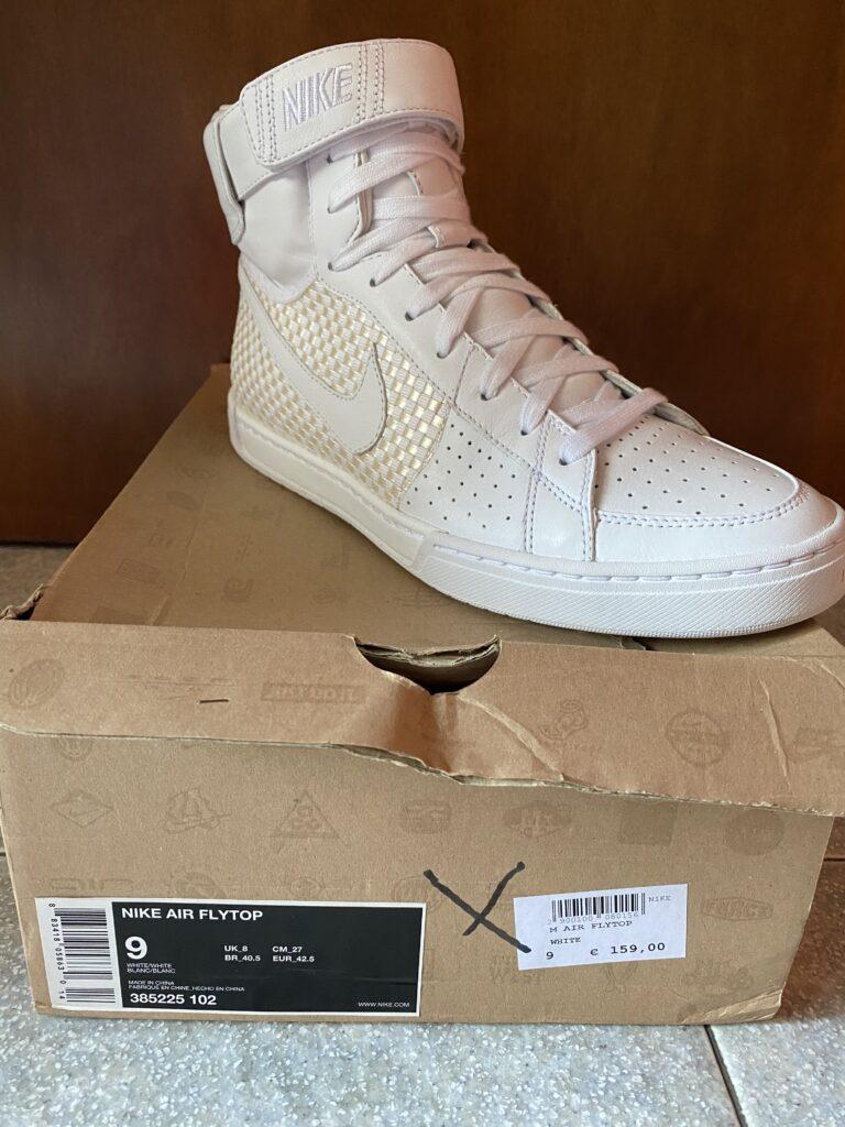 Nike Air Flytop white