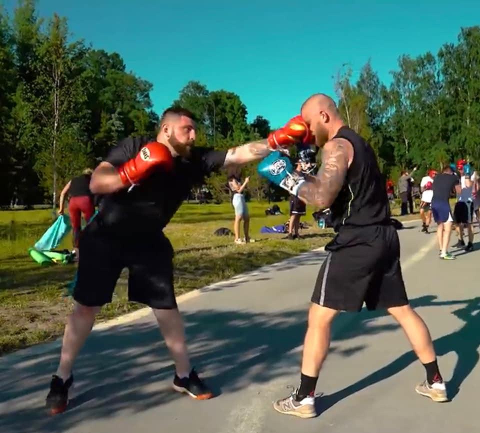 Lezioni private di pugilato boxe per principianti