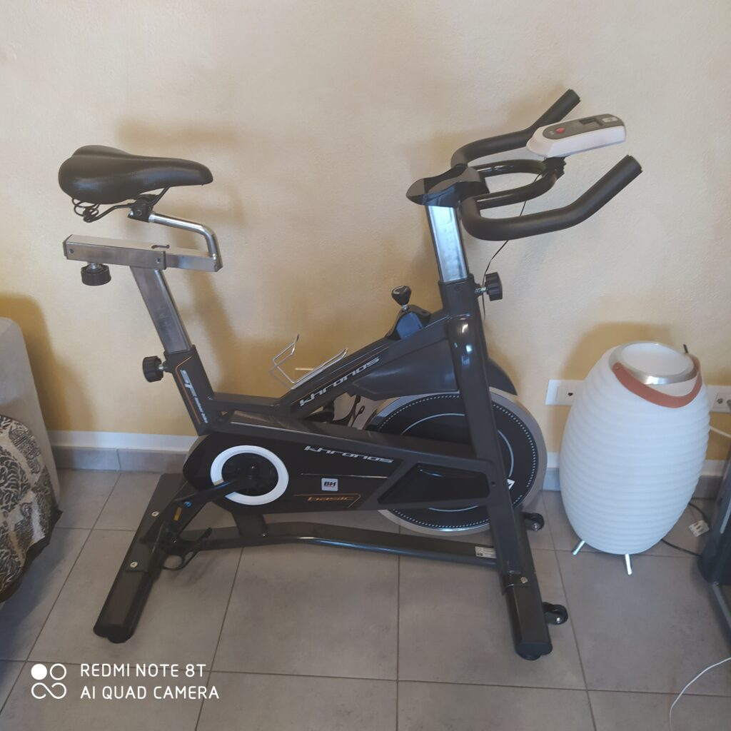 Vendo cyclette spinning