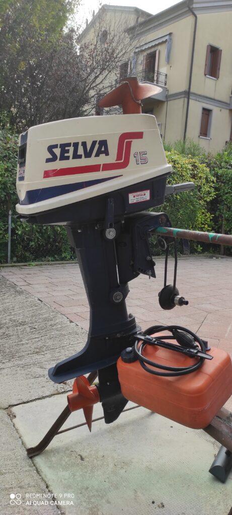 Motore fuoribordo Selva 260 15cv