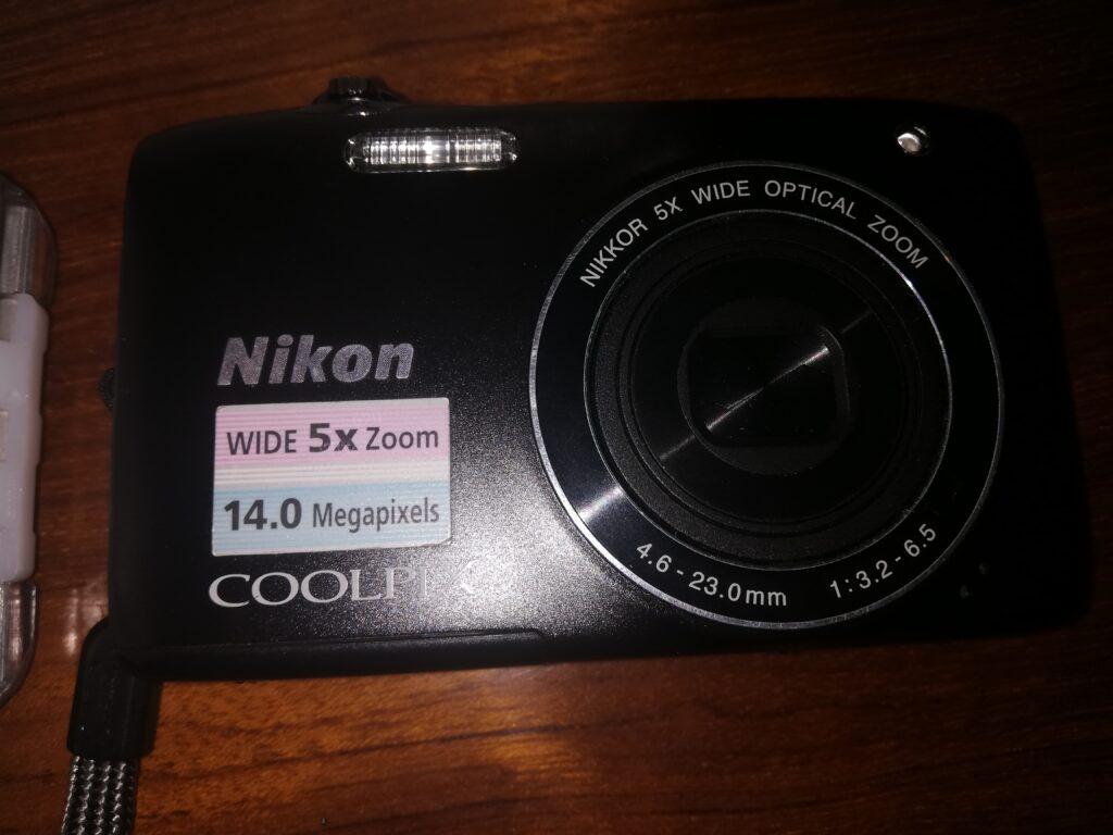 Kit fotocamera Nikon S3100 e scafandro NIMAR