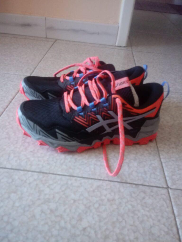 Scarpe donna running trail ASICS TRABUCO 8