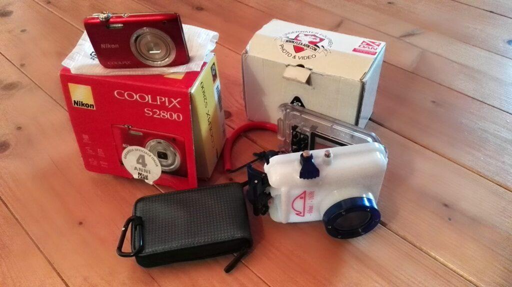 vendo kit fotocamere in perfette condizioni