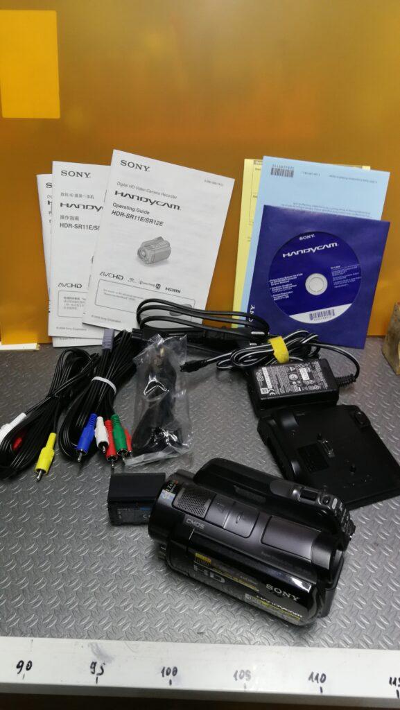 Telecamera Sony HDR-SR12 + scafandro